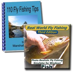 Fly fishing simulator and e book combo for Fly fishing simulator