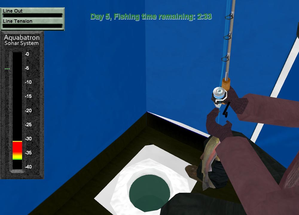 Screenshots of pishtech 39 s ice fishing derby for Ice fishing derby game