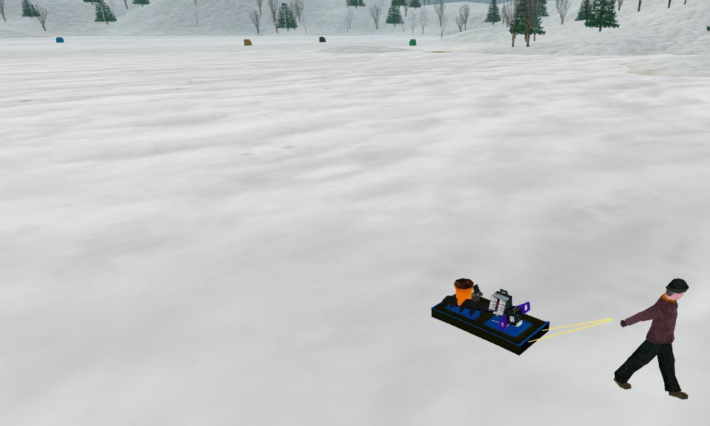Screenshots of pishtech 39 s ice fishing derby for Ice fishing derby