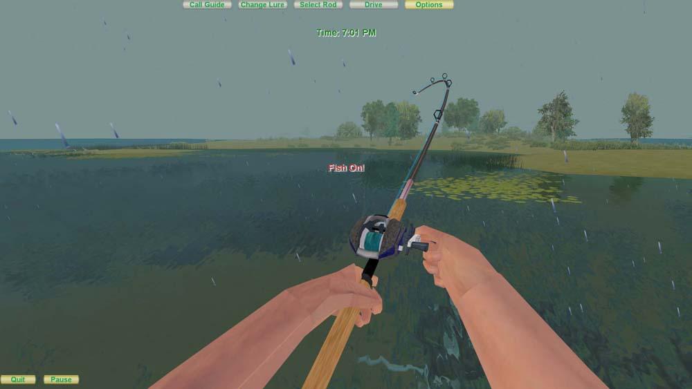 Vr sportfishing screenshots for Fly fishing games